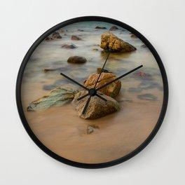 Rocky Coastline Vietnam Wall Clock