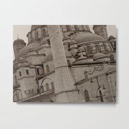 New Mosque (Istanbul, TURKEY) Metal Print