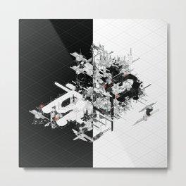 Schema 82 Metal Print