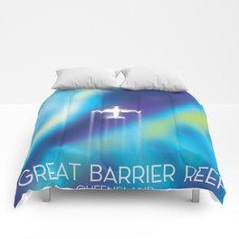 Great Barrier Reef , Queensland, Australia Comforters
