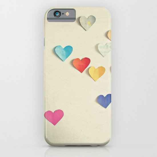 Paper Hearts iPhone & iPod Case