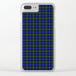 MacNeil of Barra Tartan Clear iPhone Case