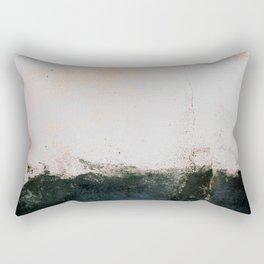 abstract smoke wall painting Rectangular Pillow