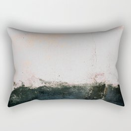 abstract smoke wall painting Rectangular Pillow