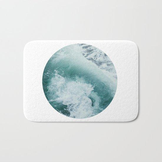 Circle Sea Bath Mat