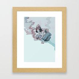 Drinking stars Framed Art Print