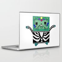 bmo Laptop & iPad Skins featuring BMO by Ilse Nonsense