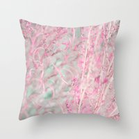 pastel Throw Pillows featuring Pastel by Eugenie