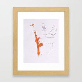 Dirty Lineage  Framed Art Print
