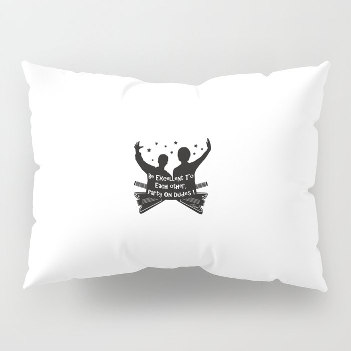 BILL AND TED'S EXCELLENT ADVENTURE Collectible Beth Bacon Design no.4 Pillow Sham