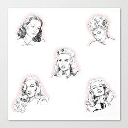 Vintage Lovelies Canvas Print