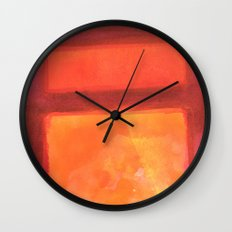 Color abstract 2 Wall Clock