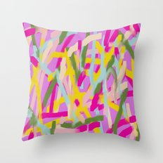 Lines Lines Lines Throw Pillow