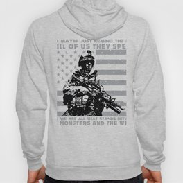 The Monsters And The Weak - US Army Veteran Hoody