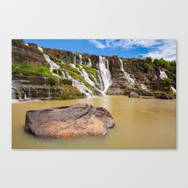 The Pongour waterfall, Dalat, Vietnam Canvas Print