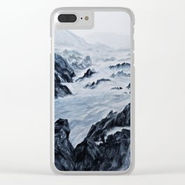 payne's cliff Clear iPhone Case