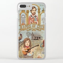 Kings Of Leon - Back Down South Clear iPhone Case