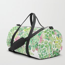 Succulent Garden Duffle Bag