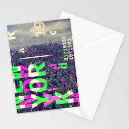 GLITCH CITY #51: New York Stationery Cards