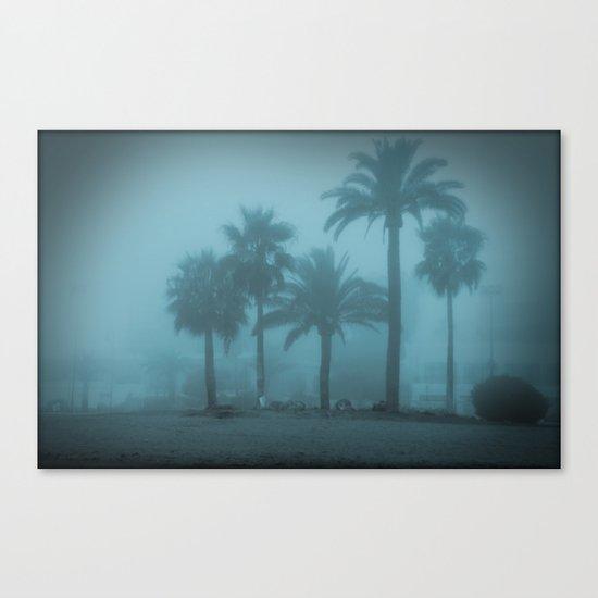 Blue memories Canvas Print
