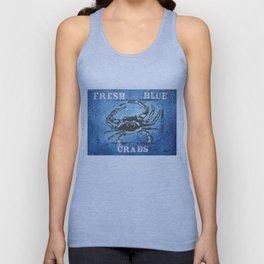 Fresh Blue Crabs Unisex Tank Top
