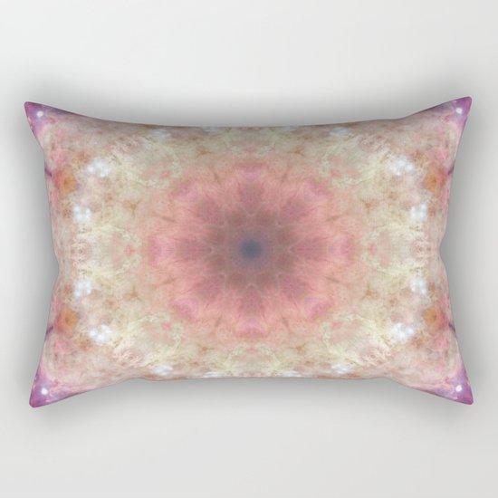 Space Mandala no8 Rectangular Pillow