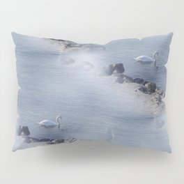 swan pattern Pillow Sham