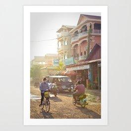 Siem Reap, Cambodia – Afternoon Light Art Print