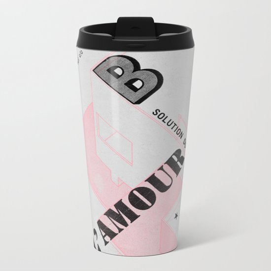 House of Love Metal Travel Mug