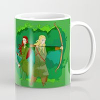 legolas Mugs featuring Legolas by hikary