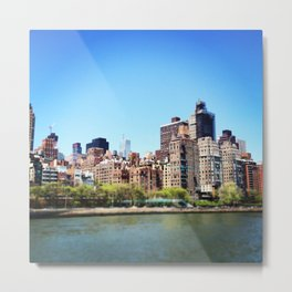 Blurry Manhattan Metal Print