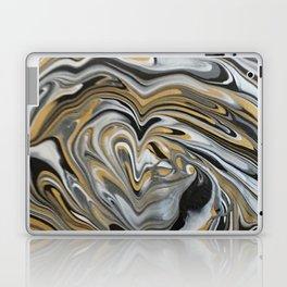 Melting Metals Laptop & iPad Skin