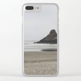 Coastal Monolith Clear iPhone Case