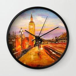 In London Wall Clock
