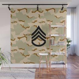 Staff Sergeant (Desert Camo) Wall Mural
