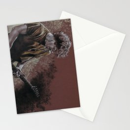 Deaner in the Fog Stationery Cards