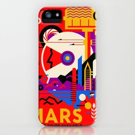 Mars Tour : Galaxy Space iPhone Case