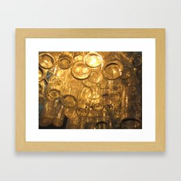 Venetian Bottles Framed Art Print