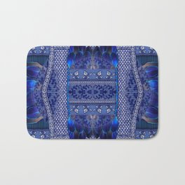Indigo Fetish Bath Mat