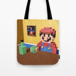 Game over Mario Tote Bag