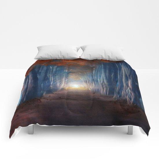 Dreams come true. Comforters