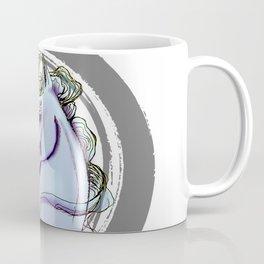 451 Periwinkle Horse Coffee Mug