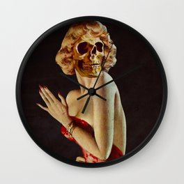 Death is the Maiden Wall Clock