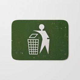 Trash - Put here please! Bath Mat