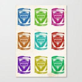Condensed Milk (Sgushchennoye Moloko) V2 Canvas Print