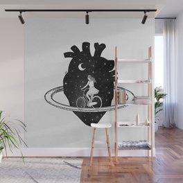 Heart choices. Wall Mural