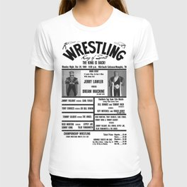 #9 Memphis Wrestling Window Card T-shirt