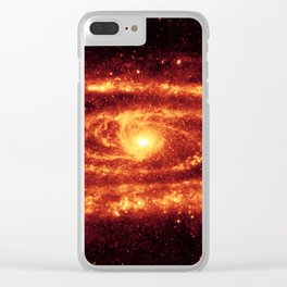 Andromeda galaxy Clear iPhone Case