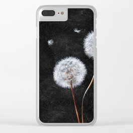 Just Dandy Clear iPhone Case