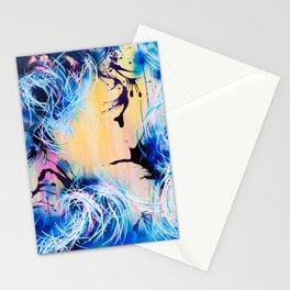 Falling Towards The Sky Stationery Cards